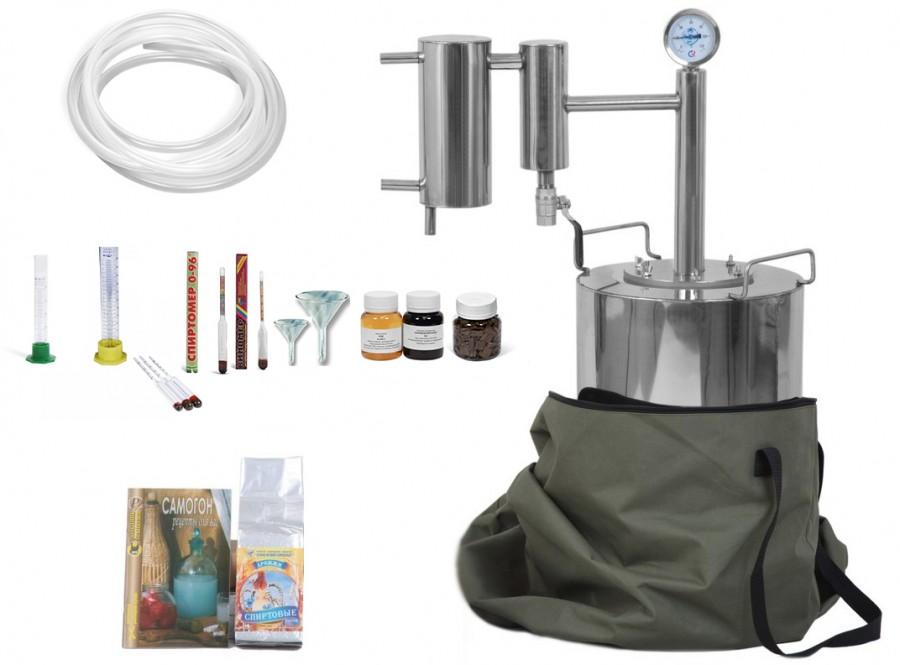 Дистиллятор Добрый Жар Люкс - готовый комплект Классический
