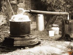 Советский самогонный аппарат
