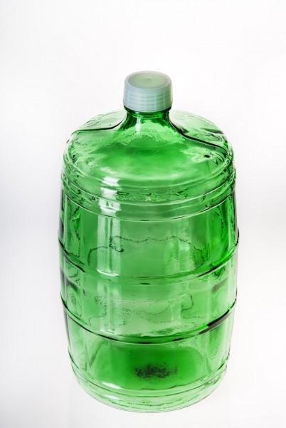 """Бутыль стеклянная """"Казак"""" 10 литров"""